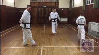 Flying kicks with a difference, ITF Tae Kwon Do Isle of Arran  - Video
