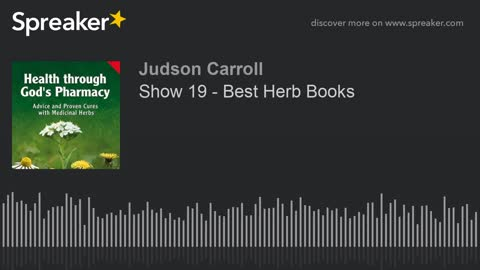 Show 19 - Best Herb Books (part 2 of 2)