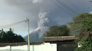 Volcano's Fifth Eruption in a Year
