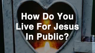 Jesus Died For You In Public - Video