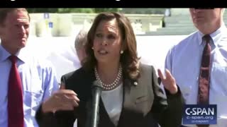 Kamala Harris doesn't like the government telling her what to do - Video