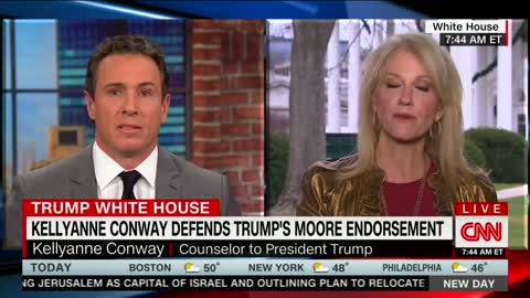 Chris Cuomo: Roy Moore Endorsement Suggested Trump Had 'No Standard of Morality'