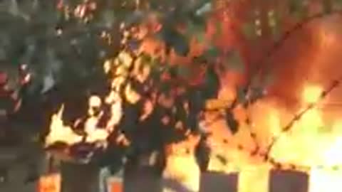 Protestors torch six vehicles in early morning electricity protest in Durban