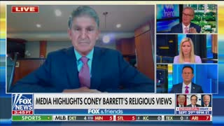 Joe Manchin says targeting Amy Coney Barrett's Catholicism amid SCOTUS talk is 'awful'