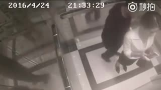 Creepy Man Gropes Woman In Elevator – Doesn't Realize She'll Take Matters Into Her Own Hands - Video