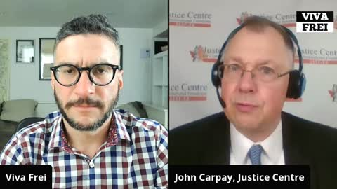 Talking Covid Constitutional Lawsuits With John Carpay of Justice Centre for Constitutional Freedoms