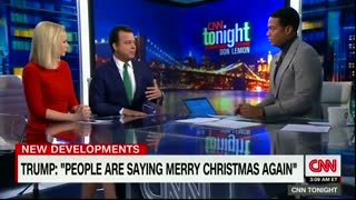 Don Lemon: Trump's 'Merry Christmas' Is Dog Whistle To This Base - Video