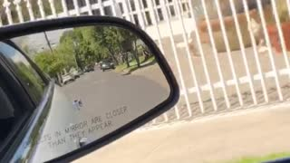 Following a Package Thief