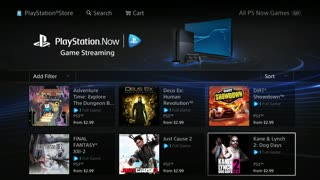 PlayStation Now beta review (PS4)