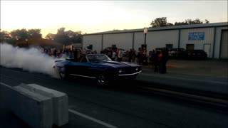 69 Chevy Camaro cruise night burnout 2014 - Video