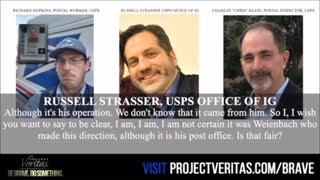 project veritas audio from USPS whisle blower