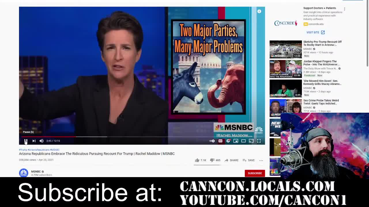 Rachel Maddow is desperate. They're ALL desperate.