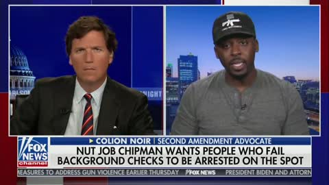 Colion Noir on Tucker Carlson Tonight