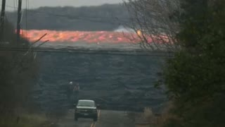 Raging River Of Lava Captured On Camera In Hawaii