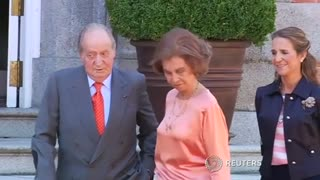 Spain's King Juan Carlos Abdicates - Video