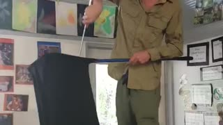 Six Foot Carpet Python in School - Video