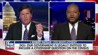 Tucker Carlson debates civil rights attorney about citizenship question on census