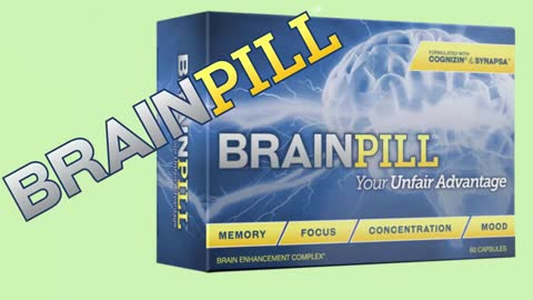 BrainPill Help People Keep Their Memory and Boost Intelligence!