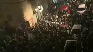 Lockdown Protest In Italy Continue To Grow!!