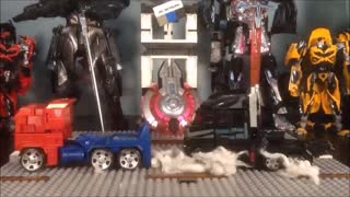 STOPMOTION CiiC Battalion Optimus Prime