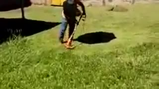 FULL equipment for mowing grass - Video
