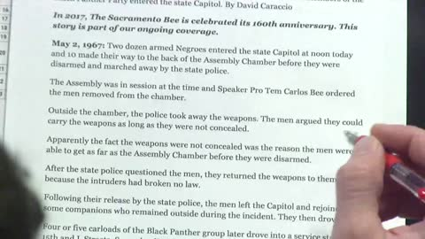 Flashback: Black Panthers Stage Armed Invasion at Capitol Building
