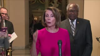Pelosi calls Trump's wall an 'immorality'
