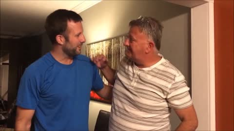 Son surprises dad with tickets to the Masters