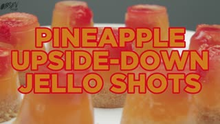 How To Make Pineapple Upside-Down Jello Shots - Full Recipe - Video
