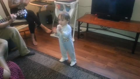 Baby stage dancer