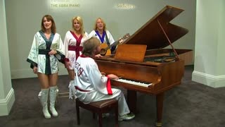 ABBA piano looking to raise money, money, money at auction - Video
