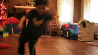 Montage Of Little Kid Doing Crazy Breakdance Moves