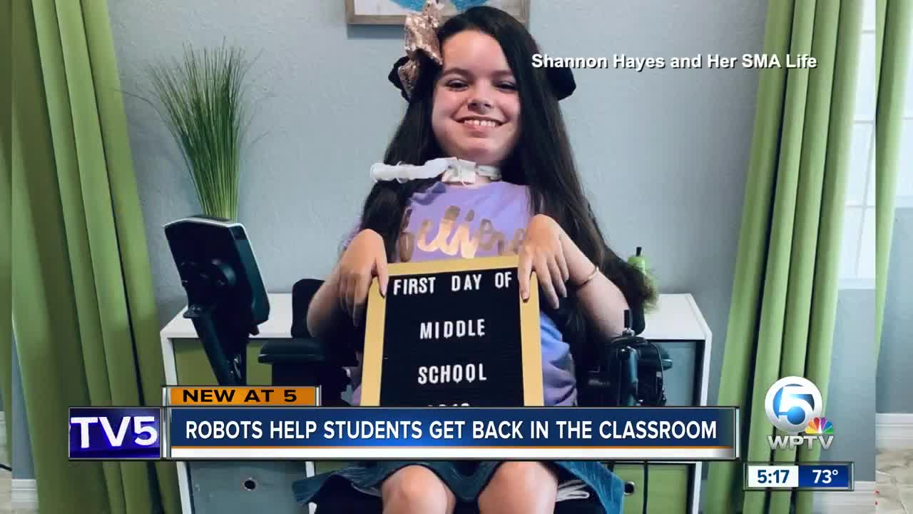 VGo robot is a social lifeline for kids who can never attend school