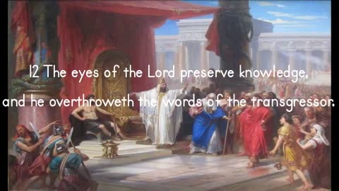 Eyes Of The Lord Versus Words Of Transgressors - Proverbs 22:12