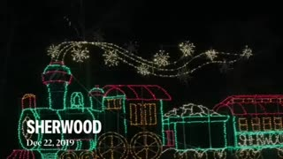 Sherwood Forest Christmas lights