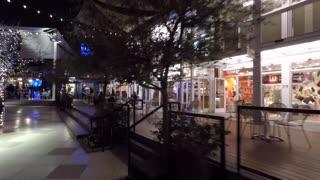 A walk trough the Container Park in downtown Las Vegas.