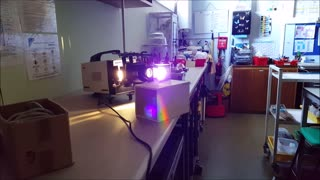 Prism rainbow + smartphone = awesome! - Video