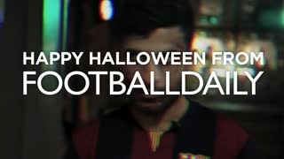 LUIS SUÁREZ HALLOWEEN ZOMBIE PRANK! - Video