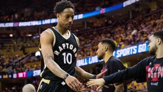DeMar DeRozan Puts A HIT Out on LeBron James | Is Isaiah Thomas Under-Appreciated?  -The Huddle - Video