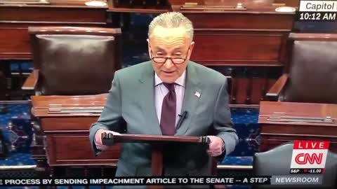 ***Oh, Behave!*** Chuck Schumer Said Trump Incited A Erection