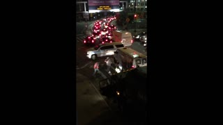 Holland Tunnel Traffic Fight - Video