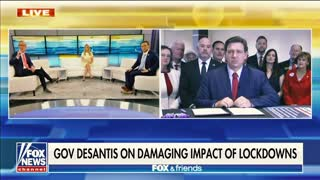 Gov DeSantis Signs Election Bill on Fox & Friends