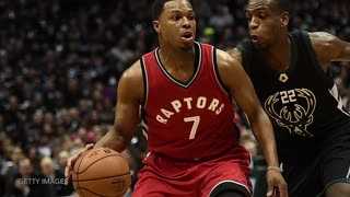 Bucks TROLL Raptors with Barney Theme Song During Introductions - Video