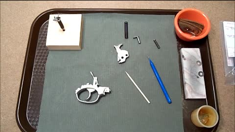 Ruger SP101 Double Action Revolver Shim Kit Installation