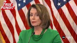 Pelosi on if Trump should resign: 'I don't think he ever should have been president' - Video