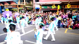 SLU Marching Band performs the Panagbenga Hymn  - Video