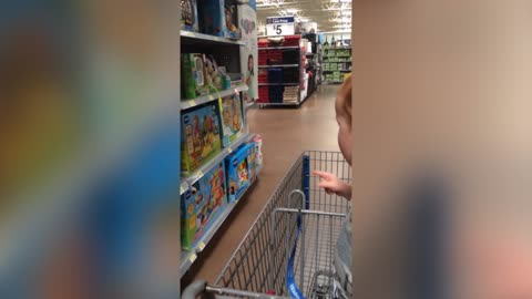 Baby Boy Has The Most Adorable Reaction At The Toy Store