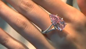 Pink diamond sets new world record at auction - Video