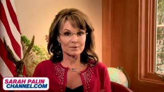Sarah Palin launches her own channel - Video