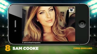 Top 10 Hottest Football WAGS 2016 - Video